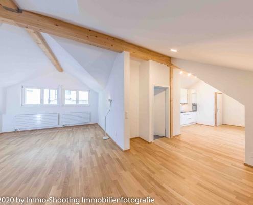 Wohnzimmer Dachwohnung Diessenhofen