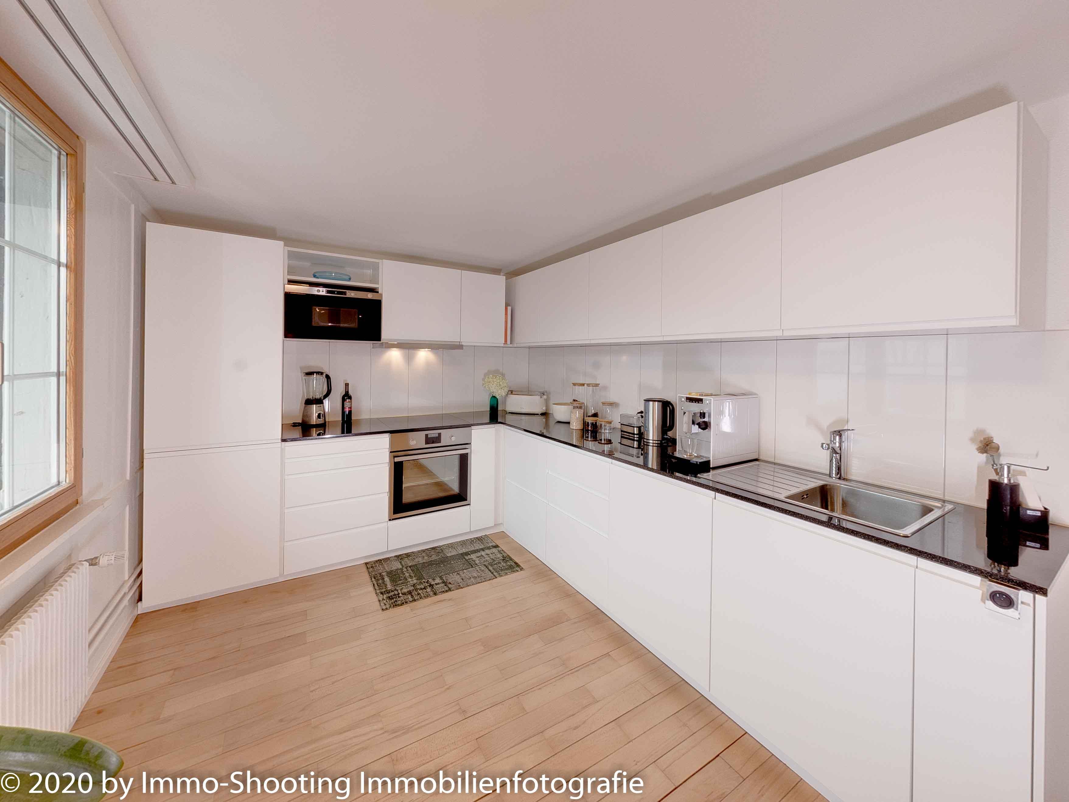 Küche Altbauwohnung Architekturfotografie Immoshooting